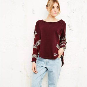 Free People Angel French Terry Sweater